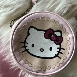 Hello Kitty cute mini circle purse